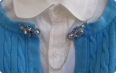antique sweater chain