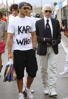 Karl Lagerfeld 'Karl Who?'