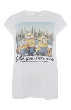 Primark - Wish You Were Here Minion T-Shirt