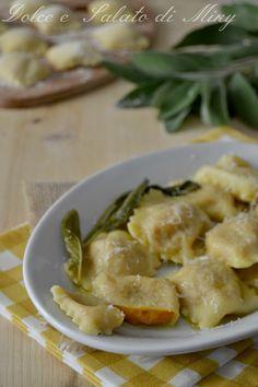 Ravioli di Zucca e Gorgonzola alla Salvia - Dolce e Salato di Miky