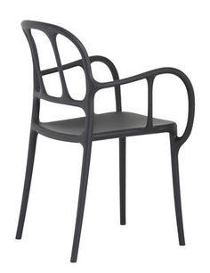 Milà Stapelbarer Sessel / Kunststoff - Magis