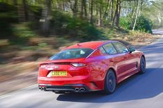 Bob Flavin at the European media drives of the All New Kia Stinger high performance saloon it has a sting in the tail and is a decent piece of kit. Kia Stinger, Roof Rails, Sat Nav, Limited Slip Differential, Back Seat, Car Videos, Fuel Economy, Extreme Sports, Automatic Transmission