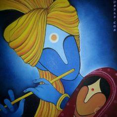 Modern Radha Krishna
