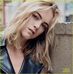 NCIS' Emily Wickersham Poses in Sexy Lingerie for 'Da Man': Photo ...