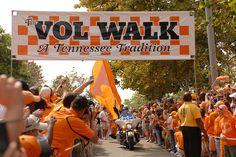 tennessee vols vol walk | Vol Walk | Flickr - Photo Sharing!