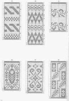 112_Tuck_Stitch_Patterns_28.01.14 Knitting Charts, Knitting Stitches, Hand Knitting, Knitting Patterns, Graph Design, Chart Design, Crochet Chart, Crochet Motif, Cross Stitching
