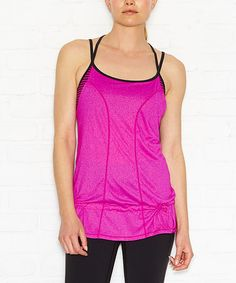 Love this Neon Berry Beyond The Beat Tank on #zulily! #zulilyfinds