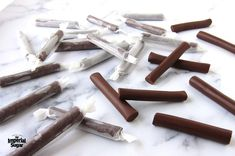 Why run to the store when it's this easy to make delicious Tootsie Rolls® at home? This Easy Homemad Easy Candy Recipes, Chocolate Candy Recipes, Fudge Recipes, Copycat Recipes, Caramel Recipes, Chocolate Fudge, Sweet Recipes, Christmas Treats, Christmas Recipes