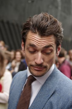David Gandy, London Collections: Men SS 2014, Day 1, 16 June 2013, Old Sorting Office, Bloomsbury, London | Flickr - Photo Sharing!