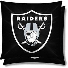 NFL 2pk Pillow Set, Oakland Raiders