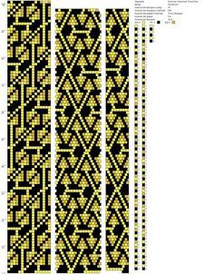 16 around bead crochet rope pattern Bead Crochet Patterns, Bead Crochet Rope, Crochet Bracelet, Beading Patterns, Beaded Crochet, Beaded Jewelry, Free Pattern, Beads, Handmade