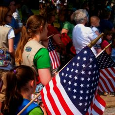 Memorial Day - Girl Scouts - Somersworth NH - Photo by MMaple