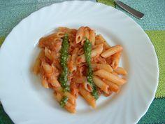 PASTA  Italian   sauce      ...Penne jus  au   thon  et  basilique  Gino D'Aquino