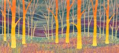 forest print - Google Search