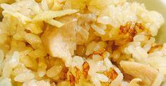 だし醤油かめんつゆとみりんだけで、おこげ付き炊き込みご飯が炊飯器で簡単に出来ます。生姜を多めに入れるのでホカホカ美味しい
