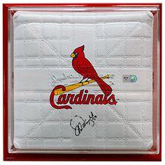St. Louis Cardinals Adam Wainwright Autographed & Framed Mini Base
