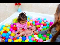 TRANSFORM BABY POOL INTO BALL PIT! - YouTube