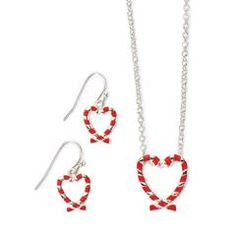 www.youravon.com/jthesing Candy Cane Necklace and Earring Gift Set