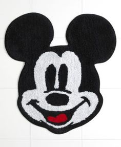 Disney Bath Rugs, Disney Mickey Mouse 25 Macy's for downstairs bathroom