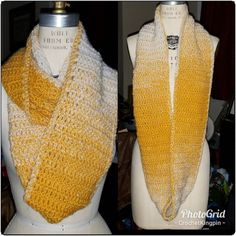 It's a dreamcicle for your neck! Hold on to your last remnants of summer with this stylish #infinityscarf. $17 . . . . . #forsale #style #fashion #crochet #icrochet #madeinthedmv #accessories #buyblack #support #fubu Style Fashion, Fashion Accessories, Stylish, Crochet, Instagram Posts, Summer, Design, Summer Time, Summer Recipes