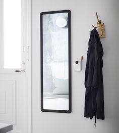 Update your small hallway with smart solutions by using hallway storage from IKEA. In a hurry and need a quick fix? Keep your favourite scent and some lipstick in a cutlery stand by the mirror, and you'll be made up and ready to go in a heartbeat. Shoe Storage Cabinet, Hallway Storage, Storage Boxes With Lids, Bench With Storage, Open Wardrobe, Take Off Your Shoes, Small Hallways, Banquette, Hall