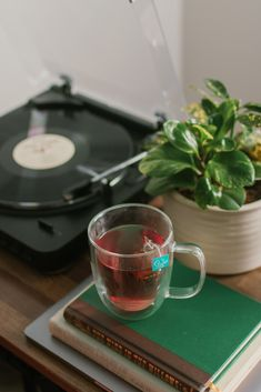 Hey you, don't forget to take time for yourself. You deserve to pause every now and then...slow down and enjoy the moment. ❤️ #tea #teatime #teaandrecords #recordplayer Hey You, Record Player, Tea Time, Don't Forget, Community, In This Moment, Tableware, Dinnerware, Tablewares