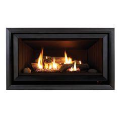 Rinnai Neo Gas Fireplace. Interior design fire place. Living area ...