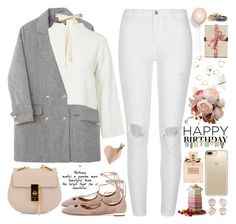 """""""2545. Whenever you find yourself doubting how far you can go, just remember how far you have come. Remember everything, you have faced, all the battles you have won, and all the fears you have overcome."""" by chocolatepumma ❤ liked on Polyvore featuring River Island, Topshop, Aquazzura, Chloé, Christian Dior and Speck"""