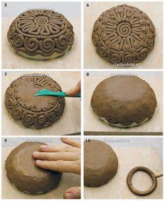 Master artesanía de manufactura de clase de cerámica para los principiantes.