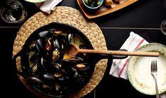 Simply Decadent Mussels @joythebaker