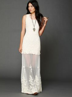 Candela Stella Maxi Dress at Free People Clothing Boutique Dress Outfits, Casual Dresses, Babe, Free People Clothing, Free People Maxi Dress, Vestido Casual, Dress Me Up, Dress To Impress, Love Fashion