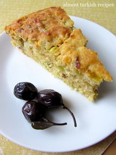 Almost Turkish Recipes: Savory Leek Cake