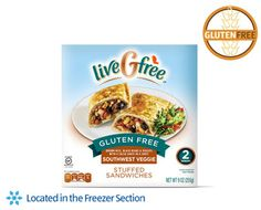 liveGfree Gluten Free Southwest Veggie Stuffed Sandwiches - 4 out of 5 Quick, easy lunch. Good texture and taste. Nice with guacamole.