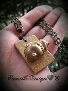 Lucky acorns talisman necklace