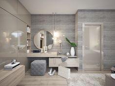 Moderné Rodinné domy v atraktívnej lokalite NA PEKNOM POLI Double Vanity, Bathroom Lighting, Mirror, Bedroom, Furniture, Home Decor, Ideas, Bedrooms, Bathroom Light Fittings