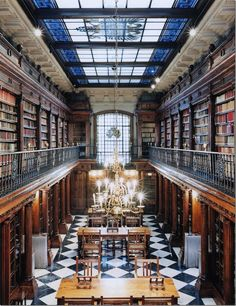 """""""Libraries"""" by photographer Candida Höfer"""