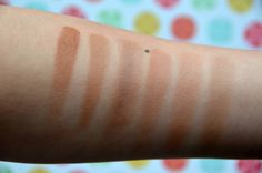 Wet n Wild Contouring Palettes compared to Too Faced Chocolate Bronzer, NYC Sunny, Sephora Colourful Blush, and Physician Formula Bronze Booster.  Click for a review! http://colouringmehappy.com/2016/03/10/wet-n-wild-coloricon-contouring-palettes-in-caramel-toffee-and-dulce-de-leche/