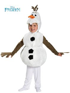 Toddler Frozen's Olaf Deluxe Costume | Wholesale Disney Costumes for Babies, Infants & Toddlers