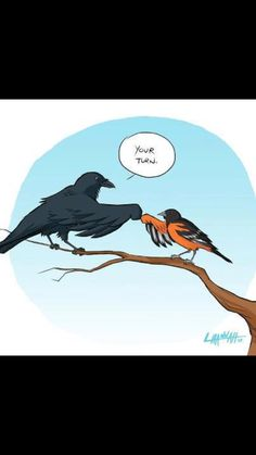 """""""Your Turn"""" #Orioles #Ravens"""