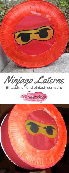 Schnelle und einfache Ninjago-Laterne – little. Simple and fast Ninjago lantern made of paper plates. Crafts with children can be easy. This creates a lantern that is ready to use. Crafts For Teens To Make, Diy Gifts For Kids, Paper Plate Crafts, Paper Plates, Halloween Crafts, Christmas Crafts, Easy Crafts, Diy And Crafts, How To Make Lanterns