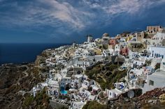 The island by George Leontaras on Photo Manipulation, Santorini, Digital Photography, Greece, My Photos, Dolores Park, Island, Gallery, Travel