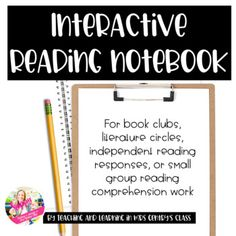 *I have included two different options for reading schedule logs (one with labeled tabs for chapter books and one without labeled tabs for flexibility).*I have also included fluency progress tracker pages.*I glue in one page at a time in my students' journals so that all work is in order, for ease o... Reading Response, Reading Skills, No Response, Small Group Reading, Reading At Home, Literature Circles, Independent Reading, Chapter Books, Writing Activities