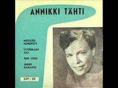 Annikki Tähti - Pieni Sydän (1956) - YouTube No One Loves Me, Finland, First Love, Music, Youtube, Books, Musica, Musik, Libros