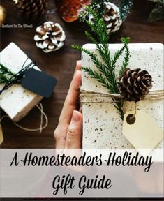 Homesteaders holiday gift guide, best gifts for the farmer.
