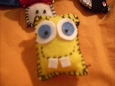 A friend of mine goes crazy for Spong.. So I tried to do a little key-ring!