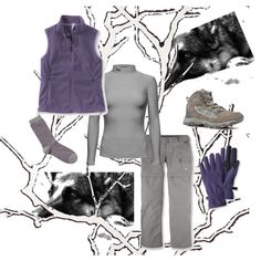 """#BeautifullyYou """"A Hiking We Will Go"""" by mstree65 on Polyvore ... Winter walking : )"""