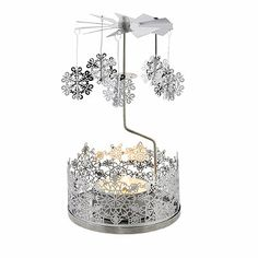 "For the Christmas table??  ""Snowflake Tealight Carousel - From Lakeland"""