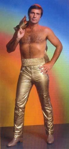Buck Rogers - How groovy! [but this outfit makes him seem a bit under-endowed?]