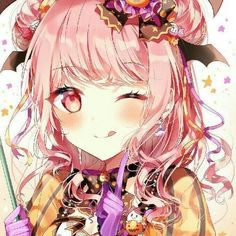 bang dream bandori cute anime girl poppin party hello happy world roselia afterglow pastel pallets Anime Love, Pretty Anime Girl, Me Anime, Beautiful Anime Girl, Anime Art, Dream Anime, Anime Chibi, Chica Gato Neko Anime, Kpop Anime