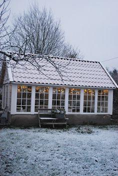 Perfect for studio.........Julias Vita Drömmar: Växthus//peaceful place